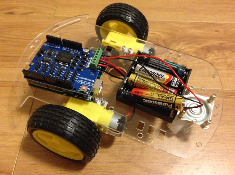 Building a wd arduino robotic car codemahal