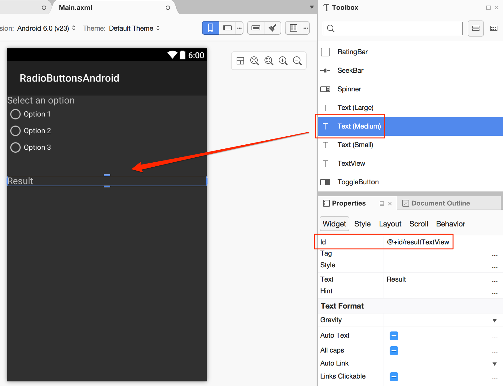 Adding radio buttons to an Android app with Xamarin – CodeMahal