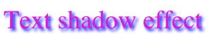 text-shadow-effect-css