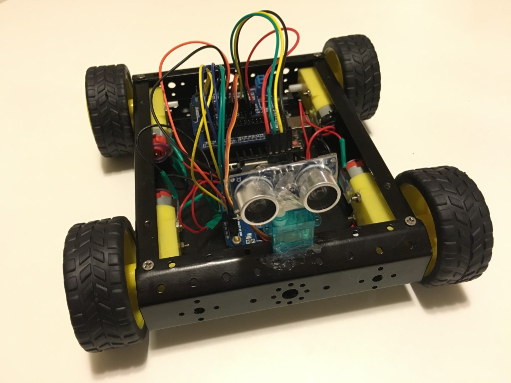 4WD autonomous robotic car