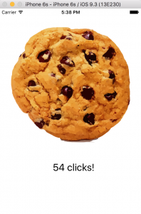 iOS Cookie Clicker app
